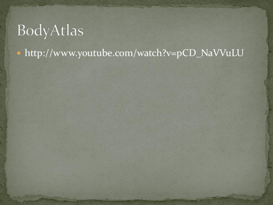 BodyAtlas http://www.youtube.com/watch v=pCD_NaVVuLU