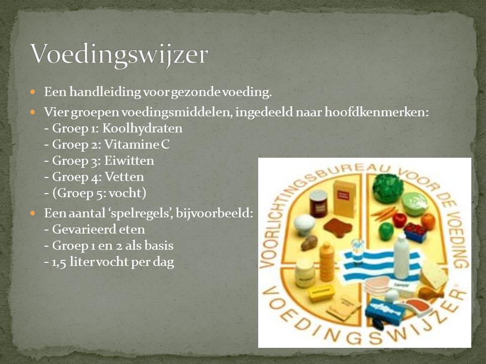 Voedingswijzer Een handleiding voor gezonde voeding.