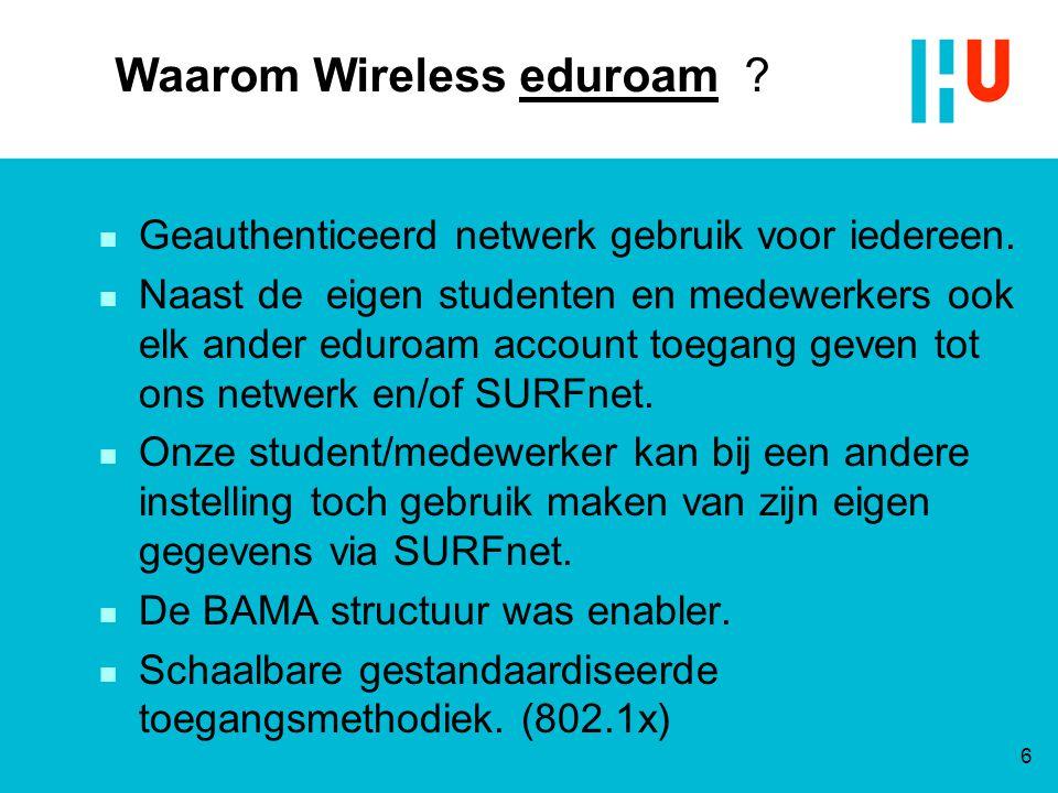 Waarom Wireless eduroam