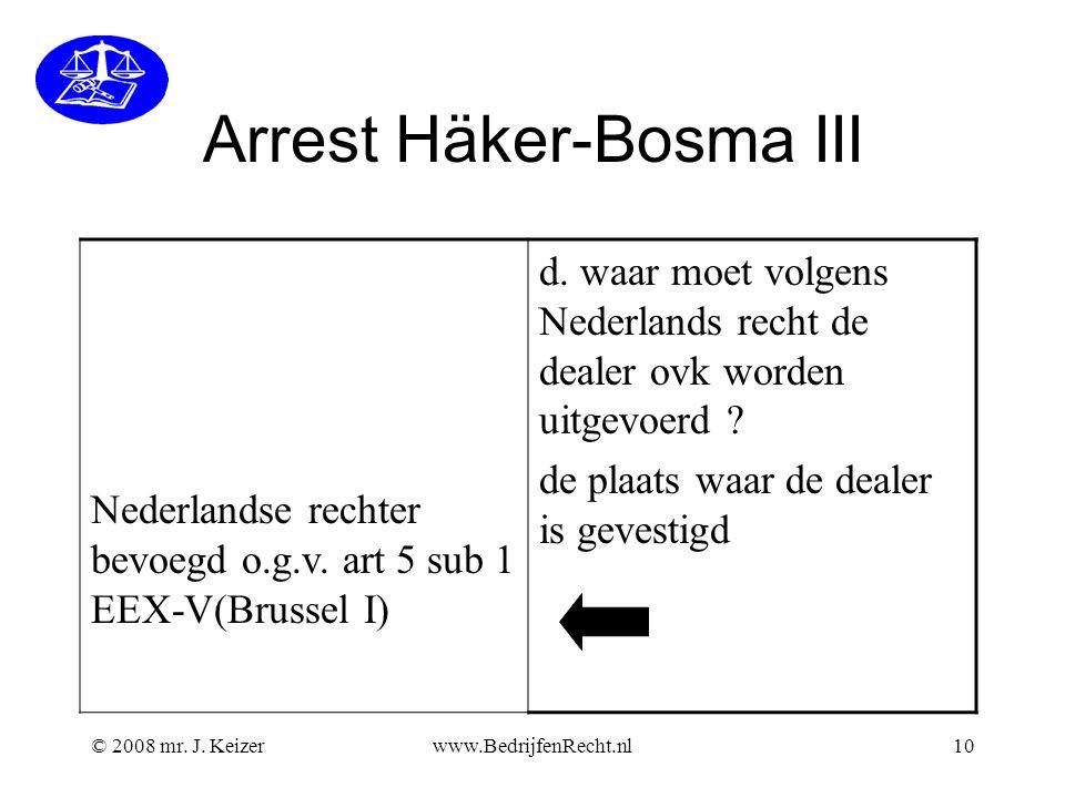 Arrest Häker-Bosma III