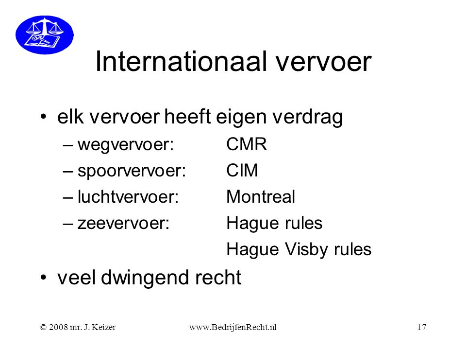 Internationaal vervoer