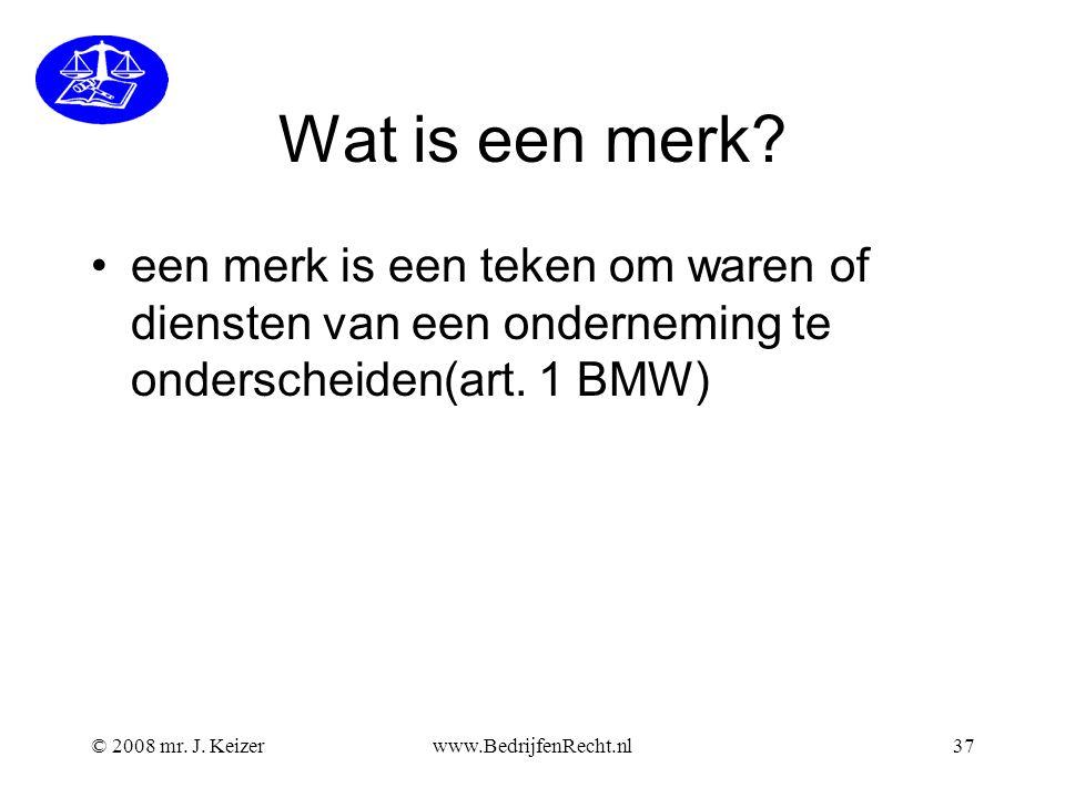Wat is een merk een merk is een teken om waren of diensten van een onderneming te onderscheiden(art. 1 BMW)