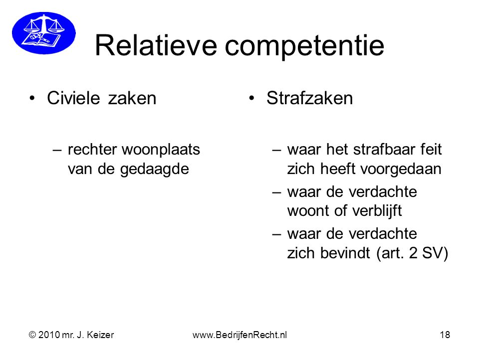 Relatieve competentie