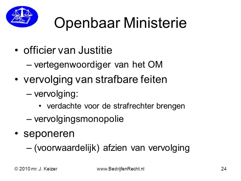 Openbaar Ministerie officier van Justitie