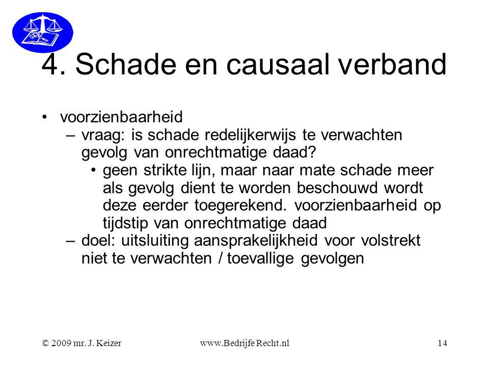 4. Schade en causaal verband