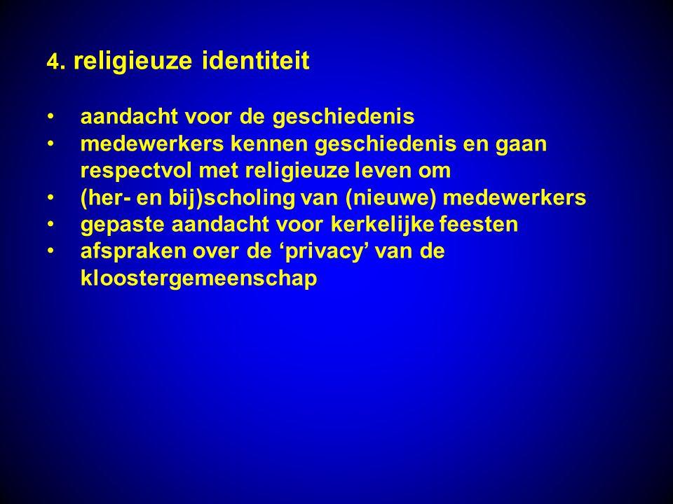 4. religieuze identiteit