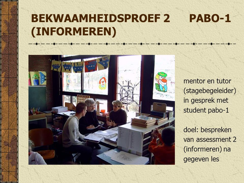 BEKWAAMHEIDSPROEF 2 PABO-1 (INFORMEREN)