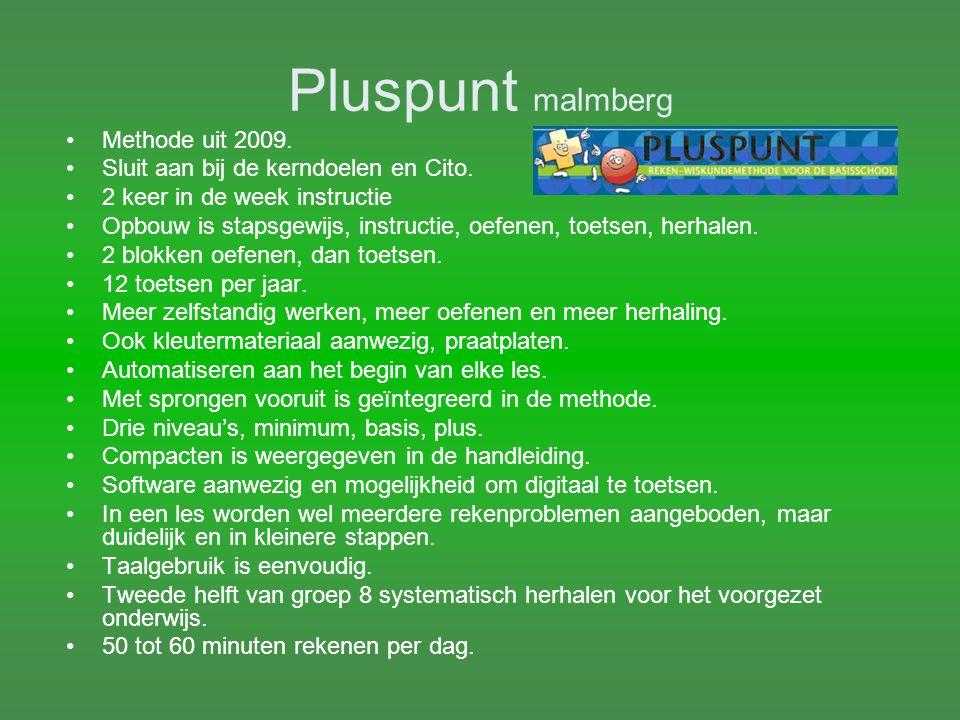 Pluspunt malmberg Methode uit 2009.