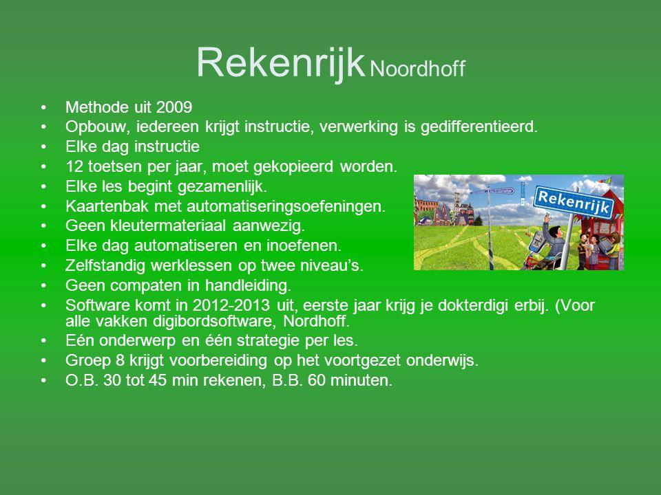 Rekenrijk Noordhoff Methode uit 2009