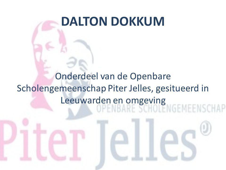 DALTON DOKKUM Onderdeel van de Openbare Scholengemeenschap Piter Jelles, gesitueerd in Leeuwarden en omgeving.
