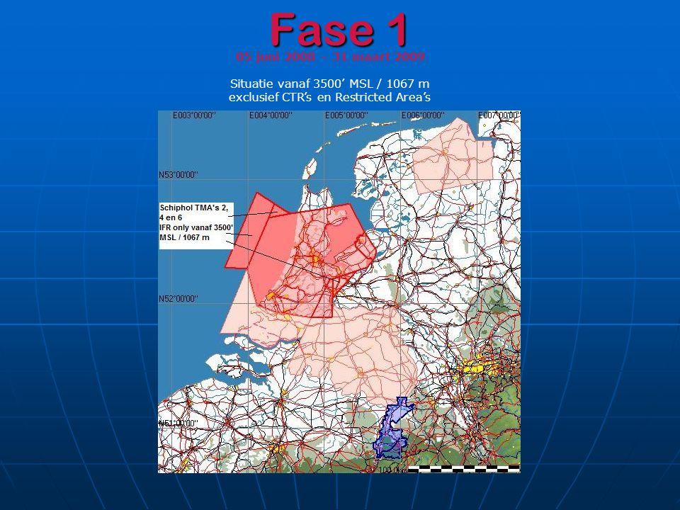 Fase 1 05 juni 2008 – 31 maart 2009 Situatie vanaf 3500' MSL / 1067 m