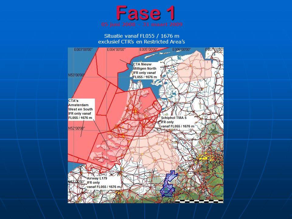 Fase 1 05 juni 2008 – 31 maart 2009 Situatie vanaf FL055 / 1676 m
