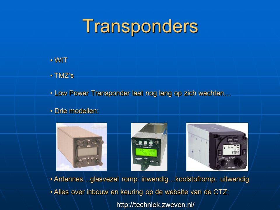 Transponders WIT TMZ's