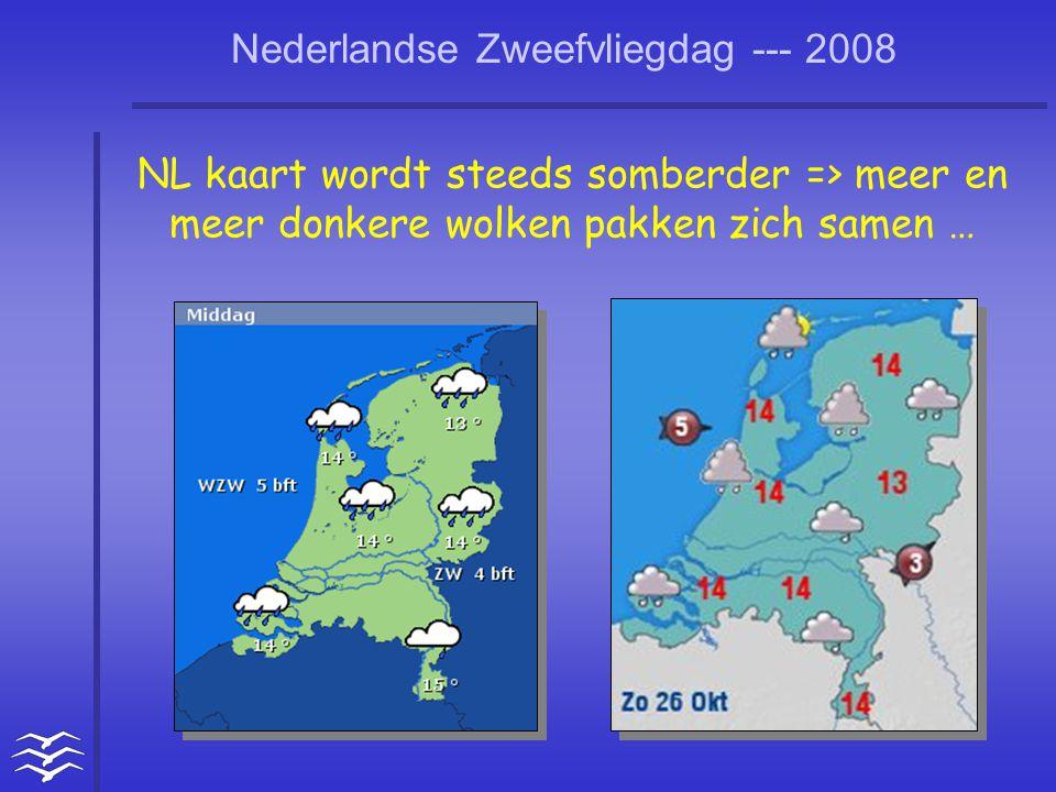 NL kaart wordt steeds somberder => meer en meer donkere wolken pakken zich samen …