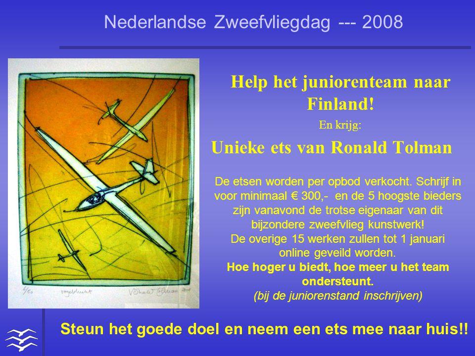 Help het juniorenteam naar Finland!