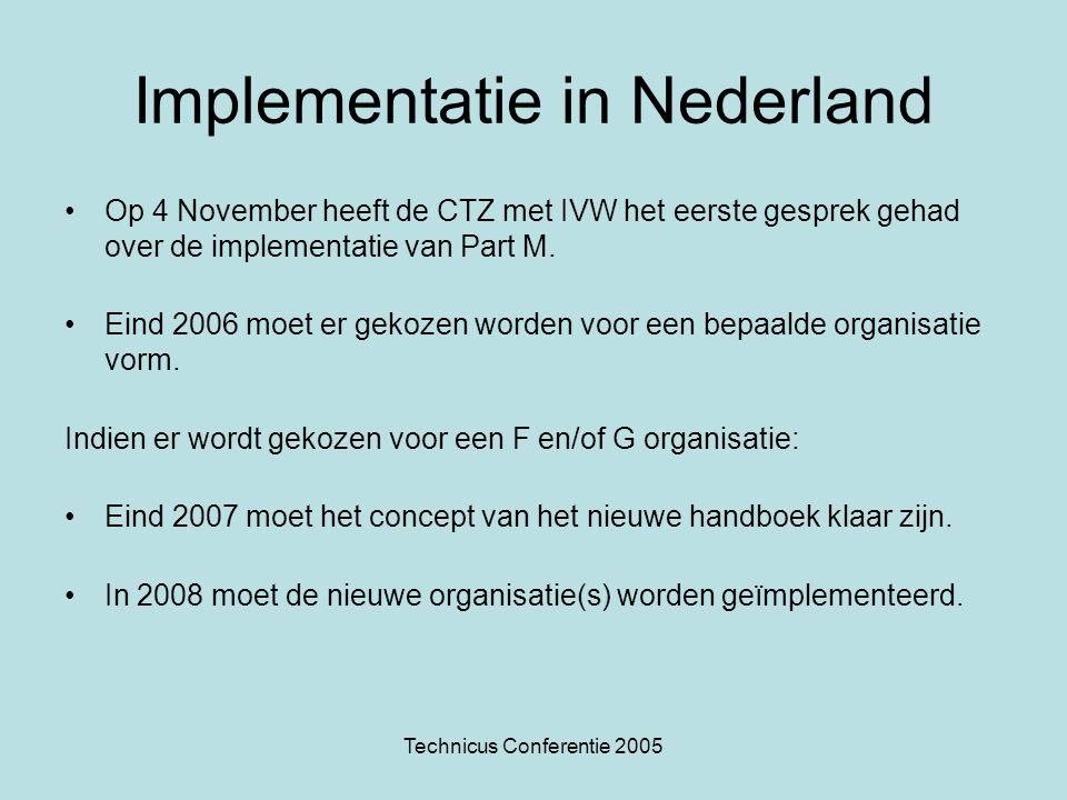 Implementatie in Nederland