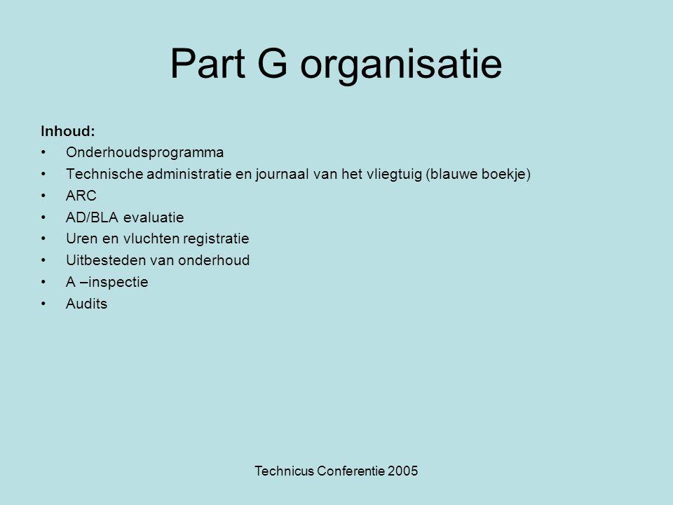 Technicus Conferentie 2005