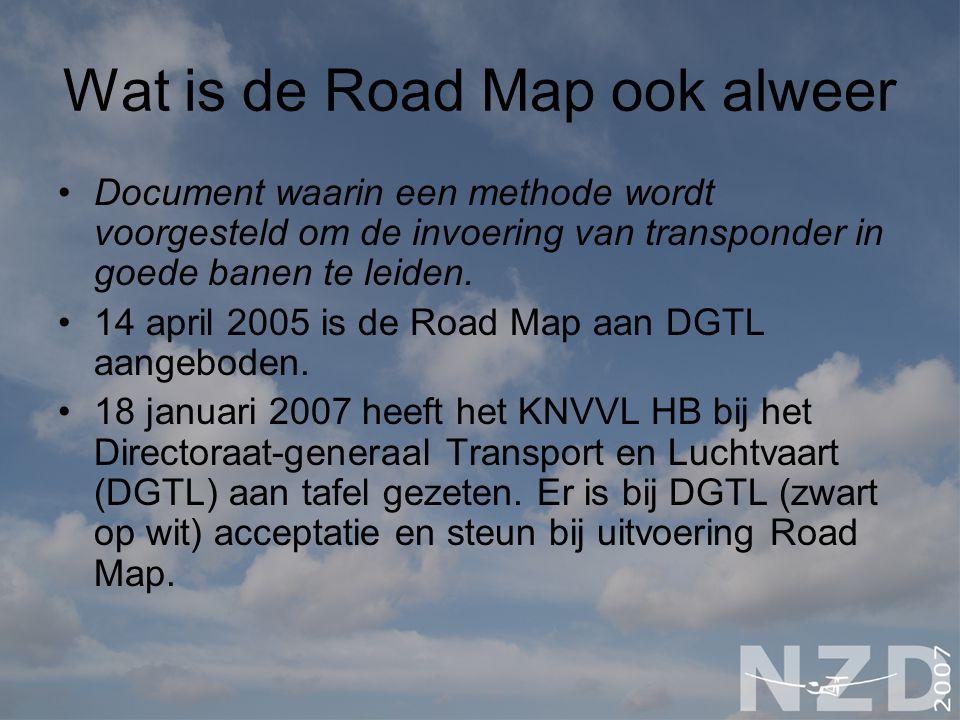 Wat is de Road Map ook alweer
