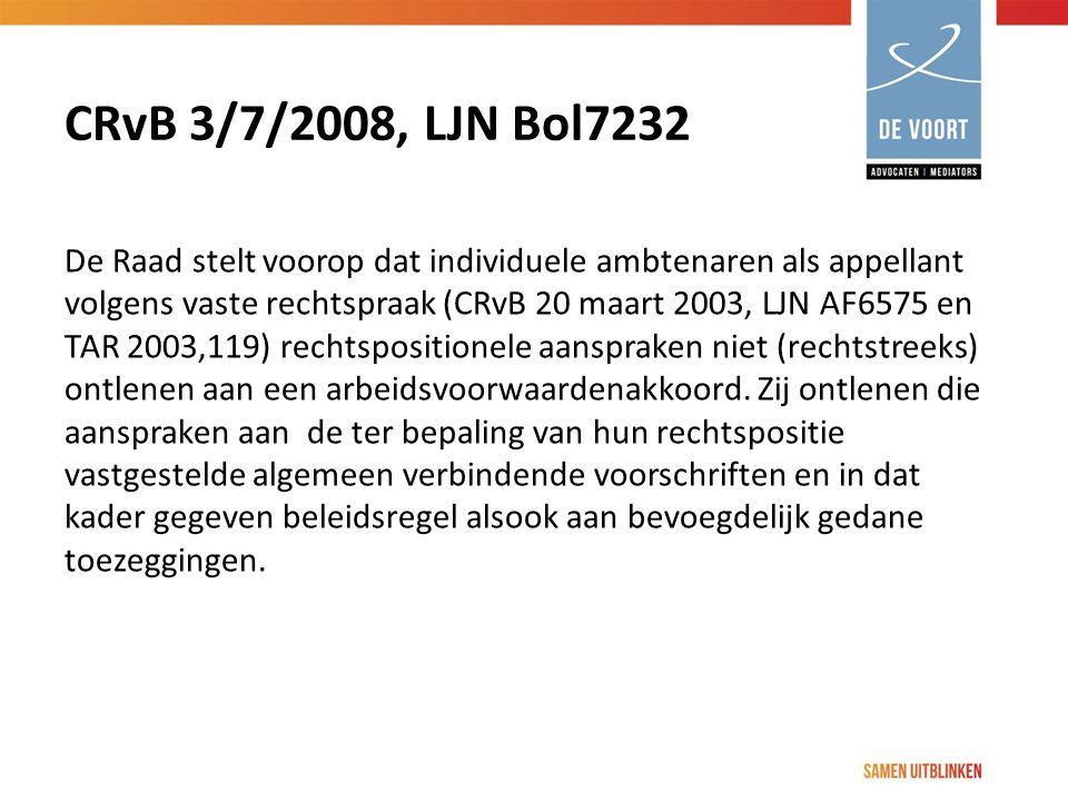 CRvB 3/7/2008, LJN Bol7232