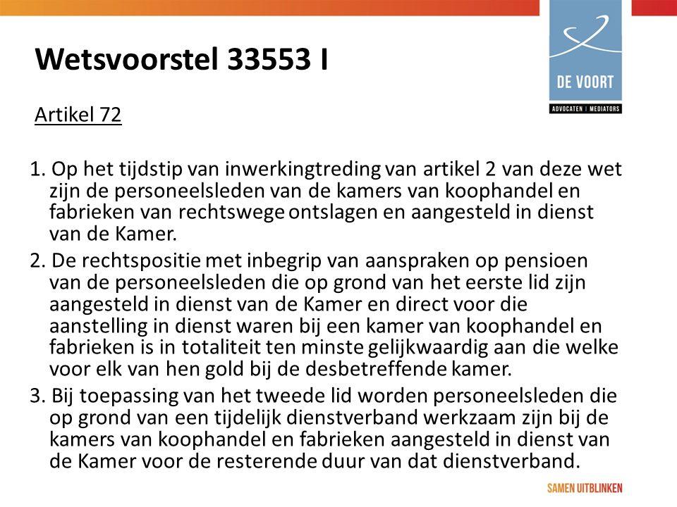 Wetsvoorstel 33553 I