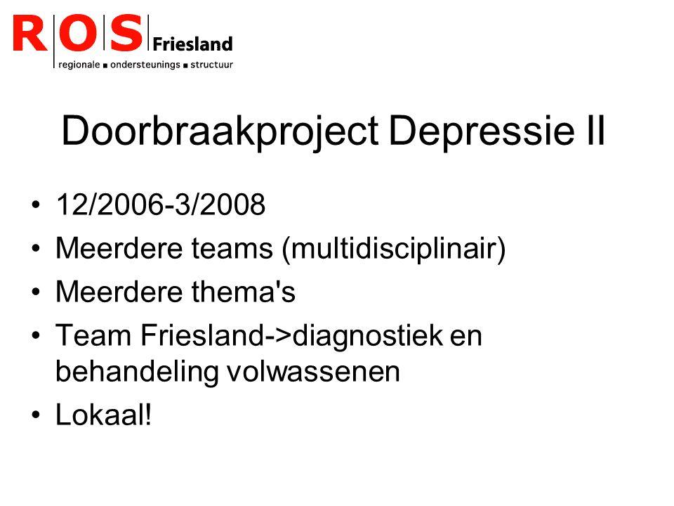 Doorbraakproject Depressie II