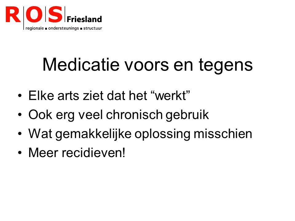 Medicatie voors en tegens