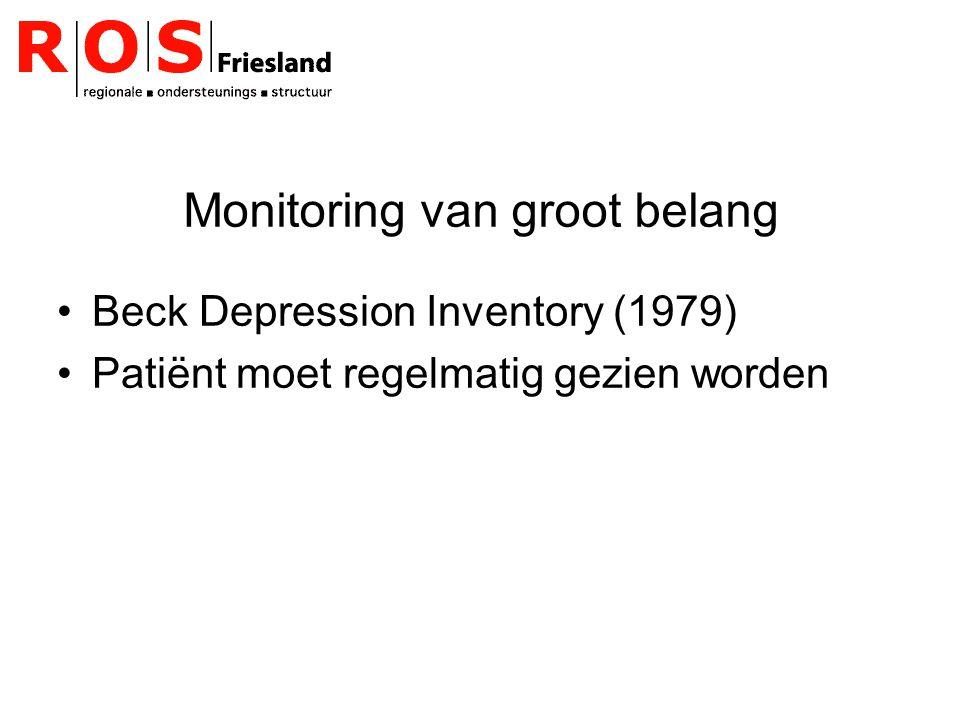 Monitoring van groot belang