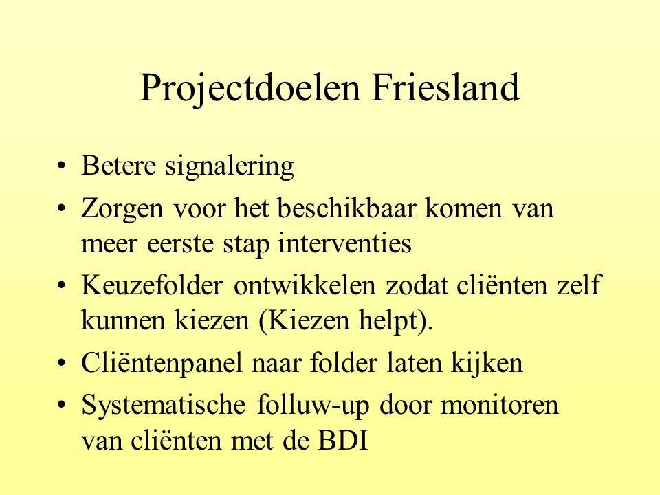 Projectdoelen Friesland