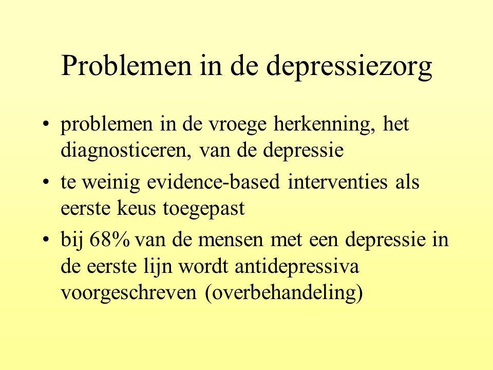 Problemen in de depressiezorg