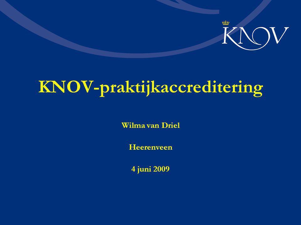 KNOV-praktijkaccreditering