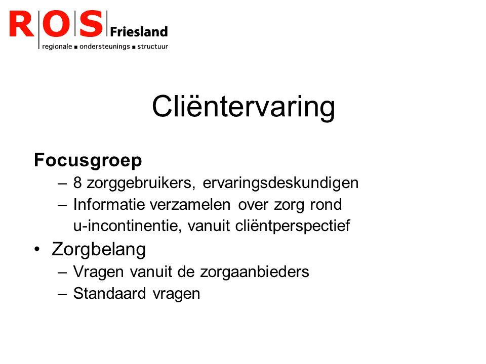 Cliëntervaring Focusgroep Zorgbelang