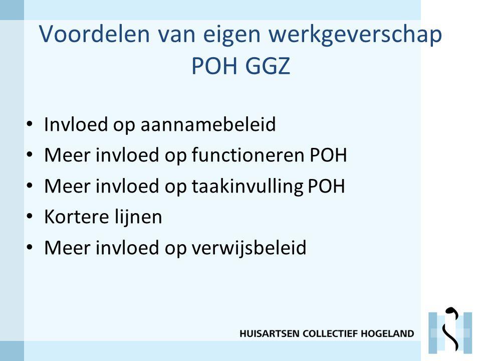 Voordelen van eigen werkgeverschap POH GGZ