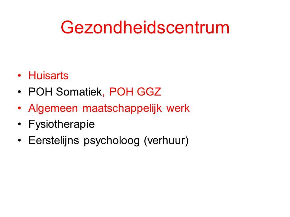 Gezondheidscentrum Huisarts POH Somatiek, POH GGZ
