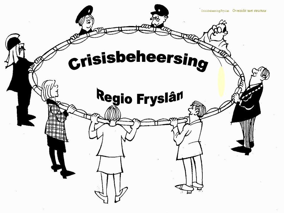 Crisisbeheersing Fryslan Overzicht met structuur