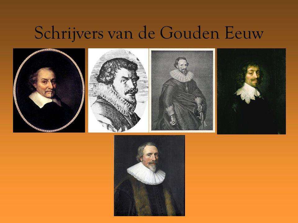Schrijvers van de Gouden Eeuw