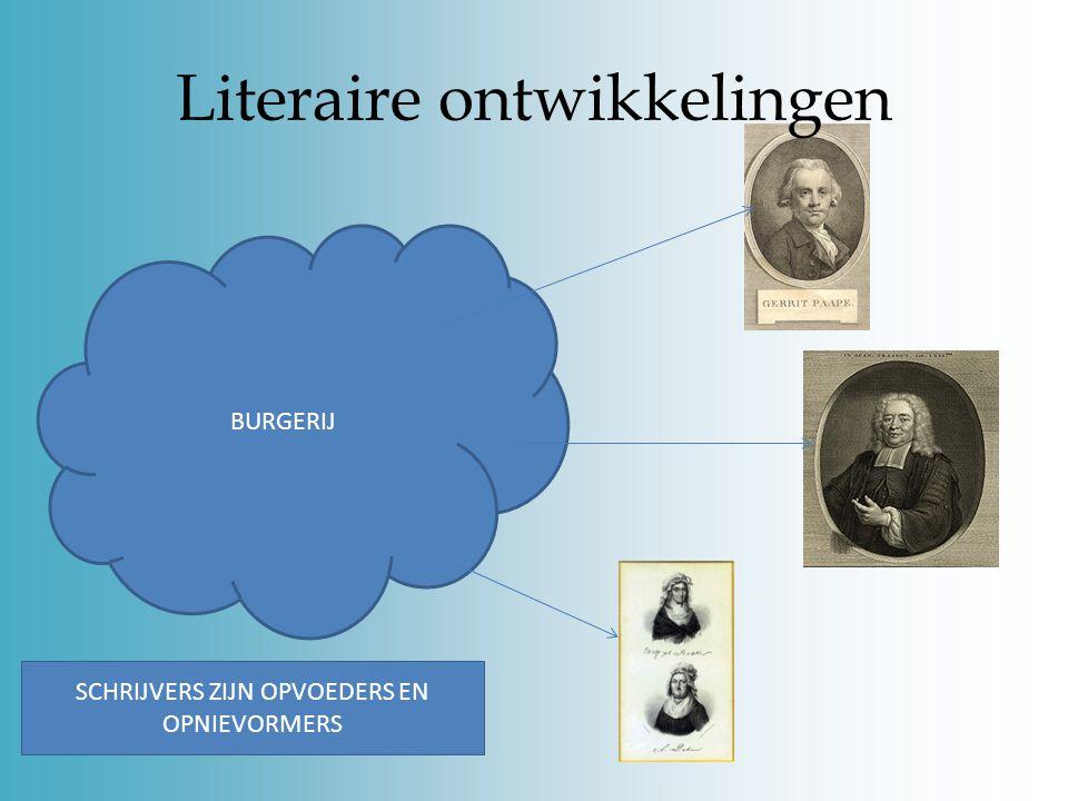 Literaire ontwikkelingen