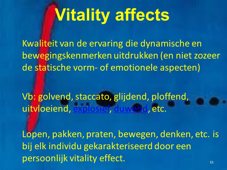 Vitality affects