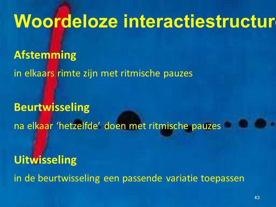 Woordeloze interactiestructuren