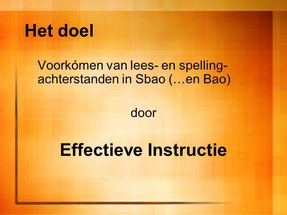 Effectieve Instructie