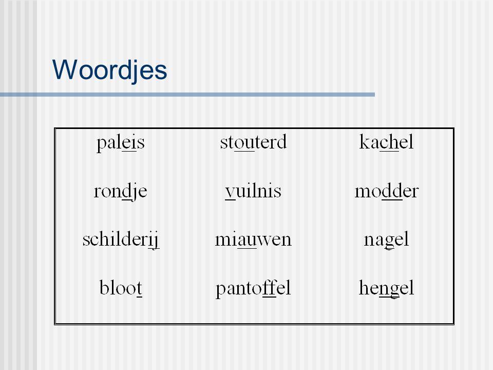 Woordjes