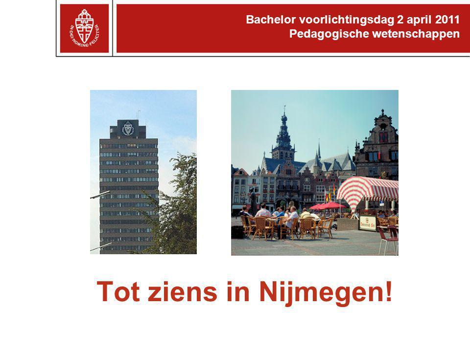 Tot ziens in Nijmegen! 32 32