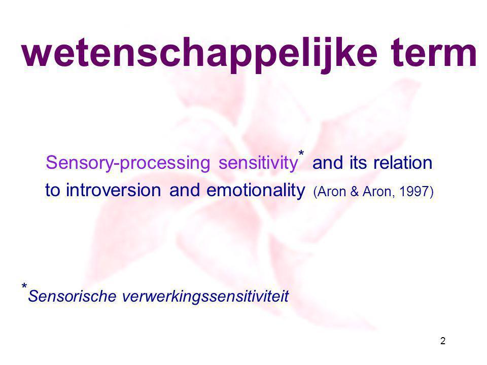 wetenschappelijke term