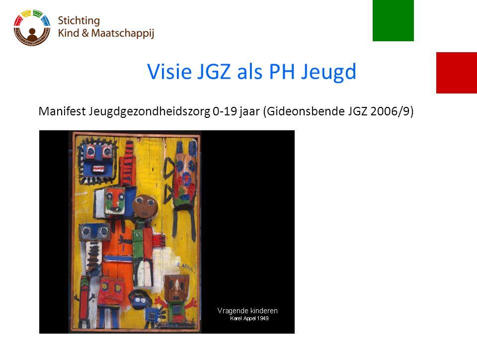 Visie JGZ als PH Jeugd Manifest Jeugdgezondheidszorg 0-19 jaar (Gideonsbende JGZ 2006/9)