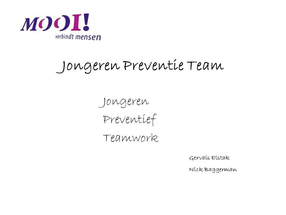 Jongeren Preventie Team