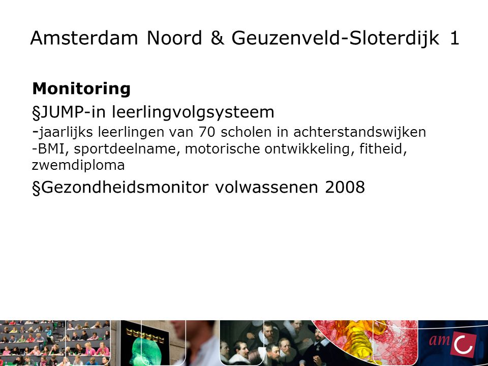 Amsterdam Noord & Geuzenveld-Sloterdijk 1