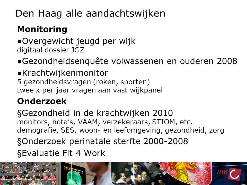 Den Haag alle aandachtswijken