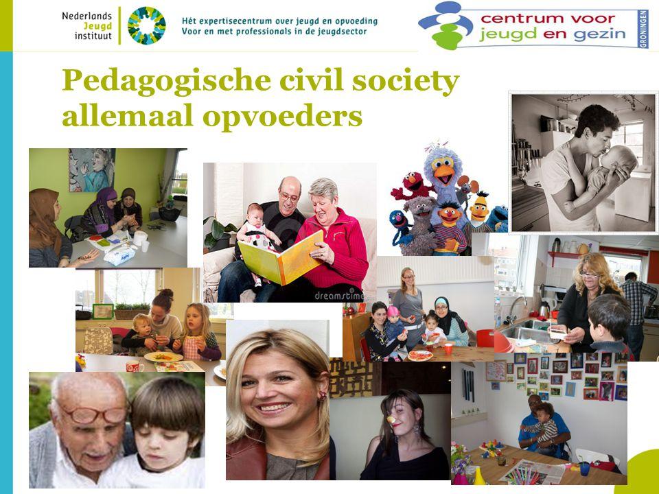 Pedagogische civil society allemaal opvoeders