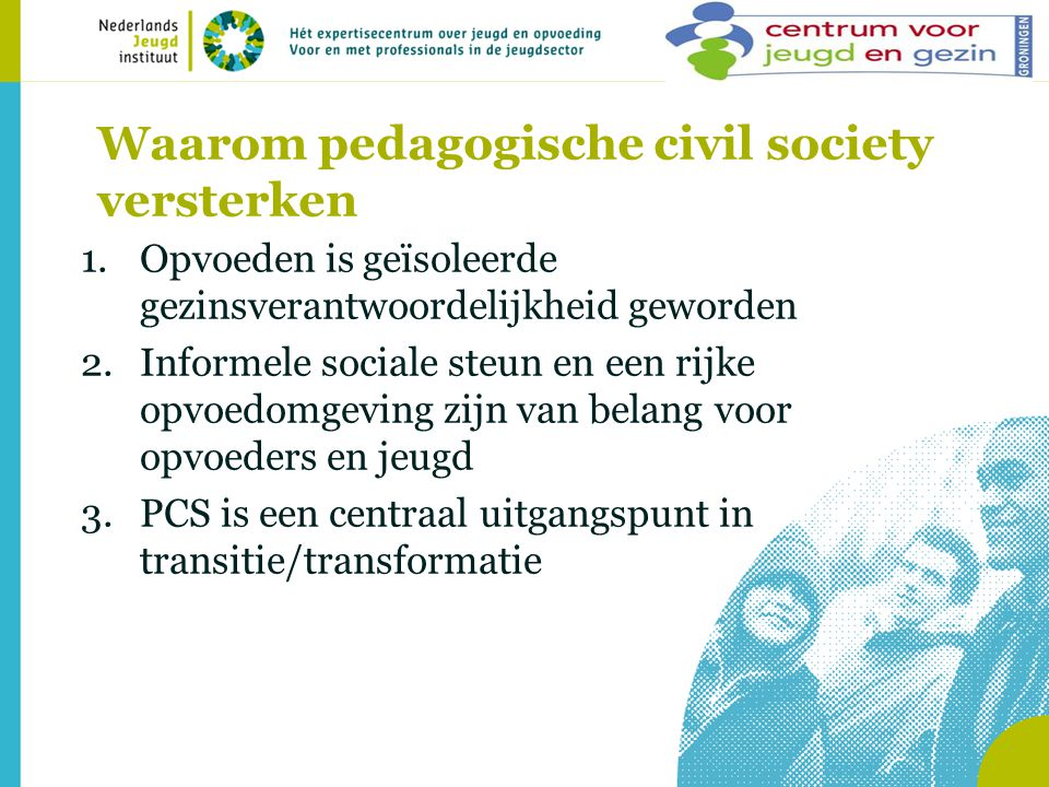 Waarom pedagogische civil society versterken