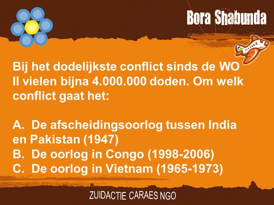 Bij het dodelijkste conflict sinds de WO II vielen bijna 4. 000