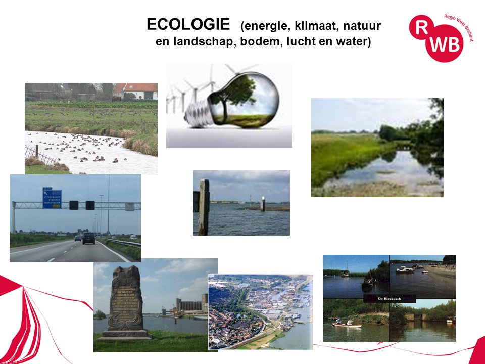 ECOLOGIE (energie, klimaat, natuur en landschap, bodem, lucht en water)